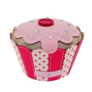 Cupcake Pin Cushion Button Box